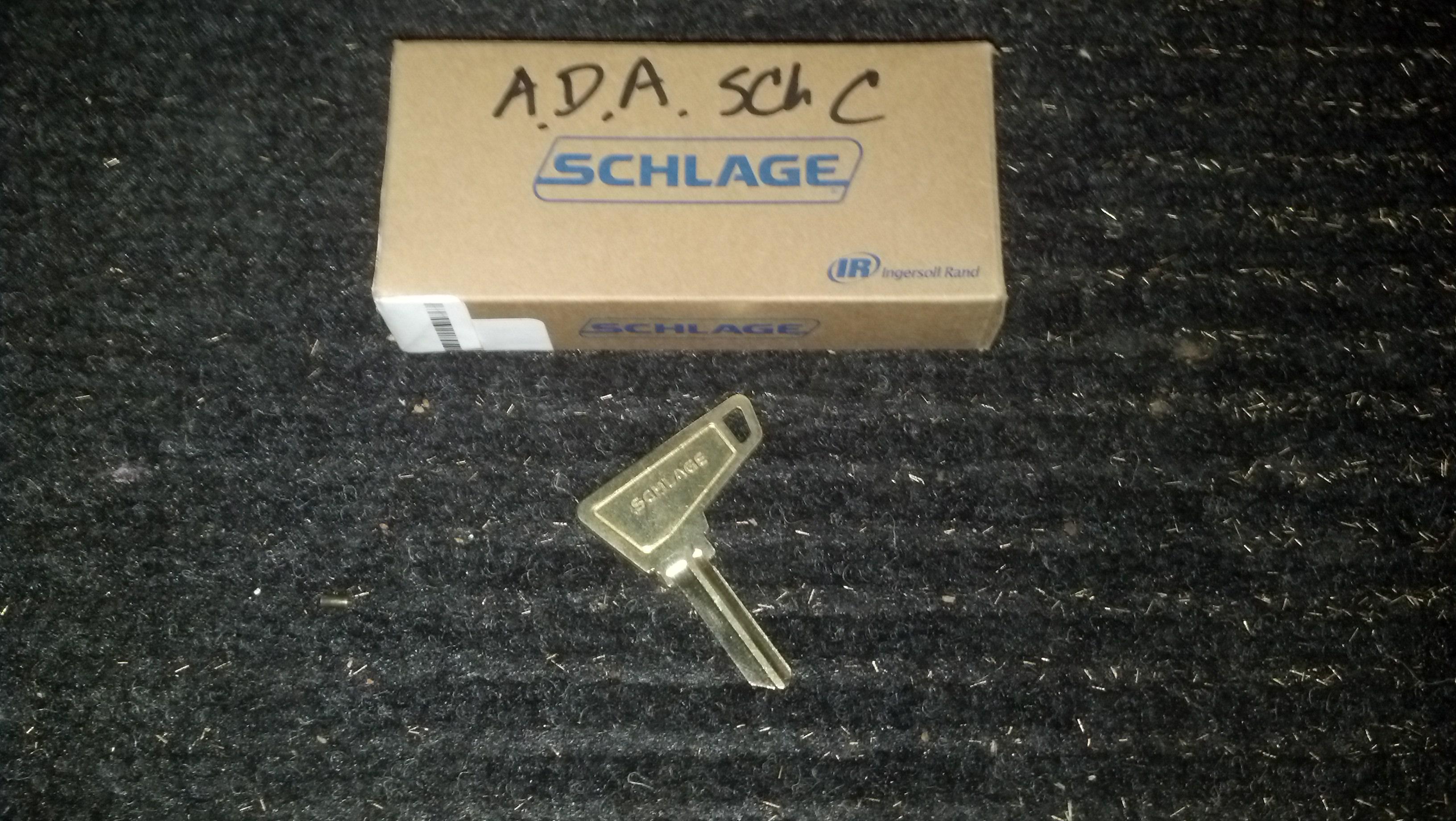 Ada Schlage Keys Locksmith Chico Ca